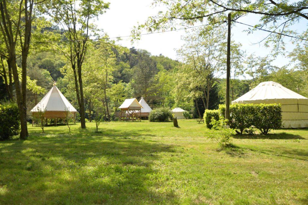 Camping Le Viaduc Arlebosc